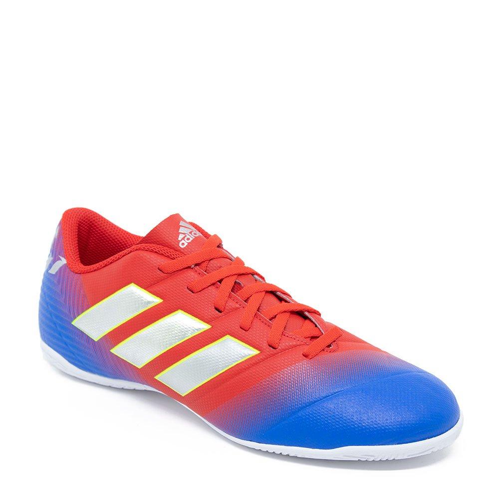 7a0aadb158 Chuteira Futsal Adidas Nemeziz Messi 18.4 D97264 Laranja azul
