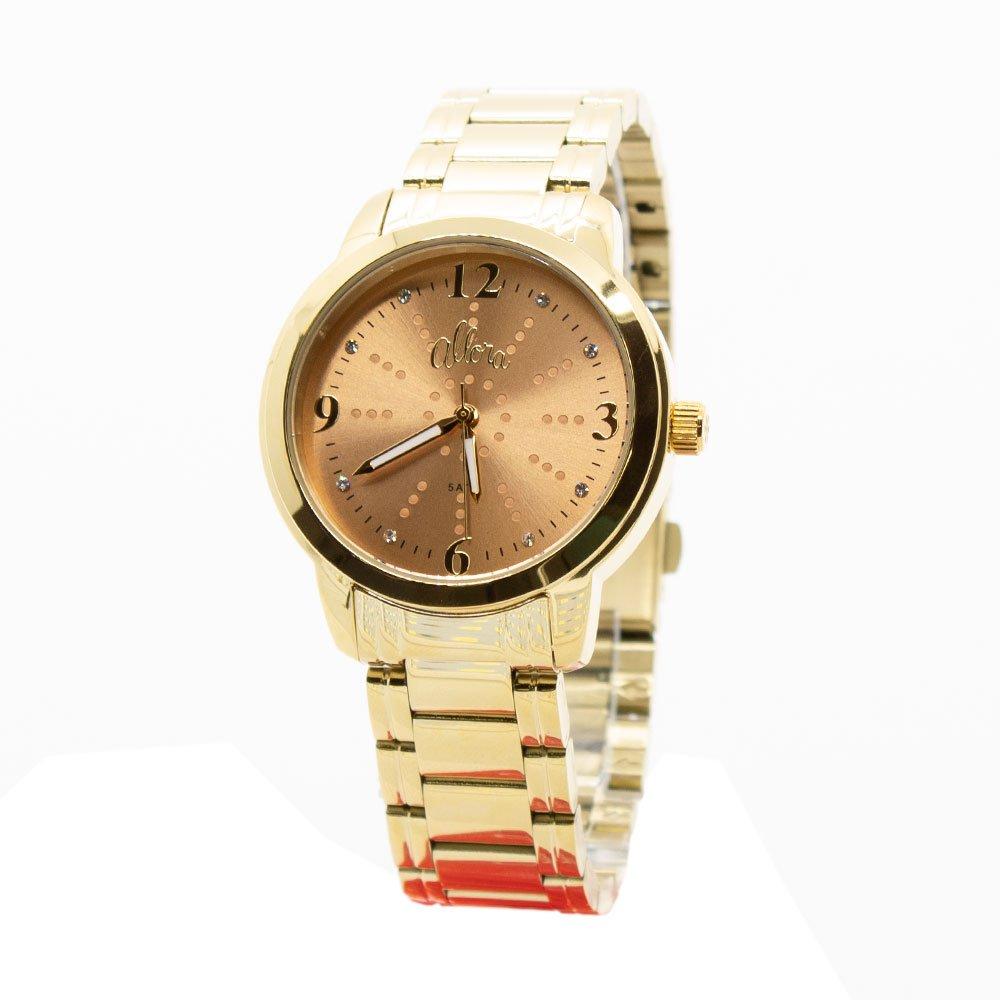 Kit Relógio Allora Feminino Algodão Doce AL2035FMF K4L - Zuazen 04c383ac55