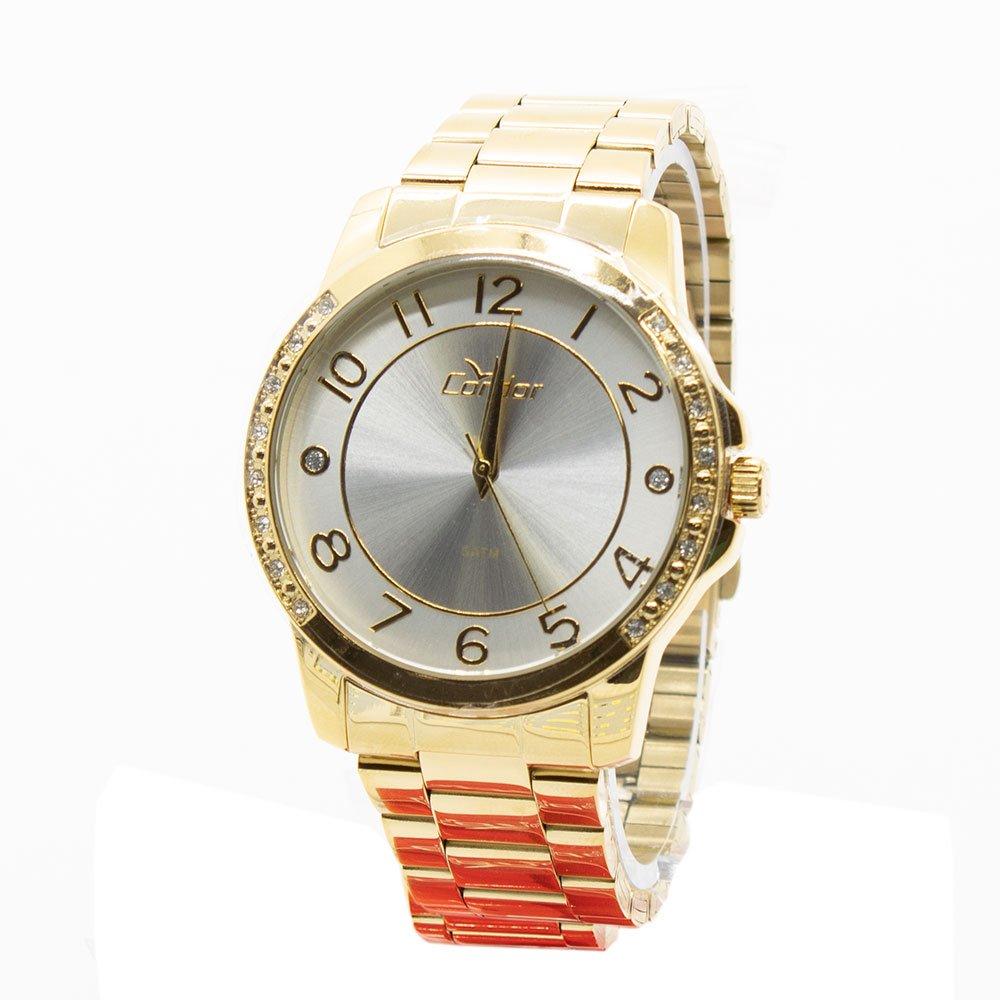 Relógio Condor Feminino Analógico Casual CO2035KOM 4K Dourado. Ref. 450f44869e