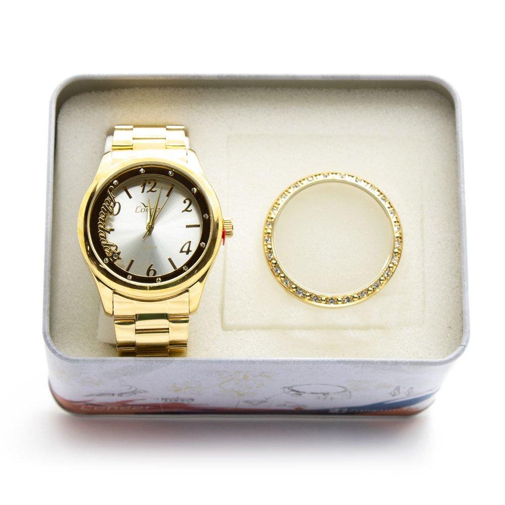 Relógio Condor Feminino Troca Aros CO2035KUR K4K - Zuazen 7a3bc541ae