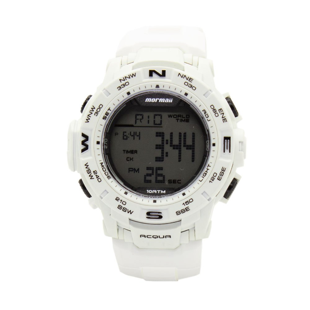 dff4ca74fb4 Relógio Mormaii Luminous Digital Esportivo Masculino Casual MO1173E 8B
