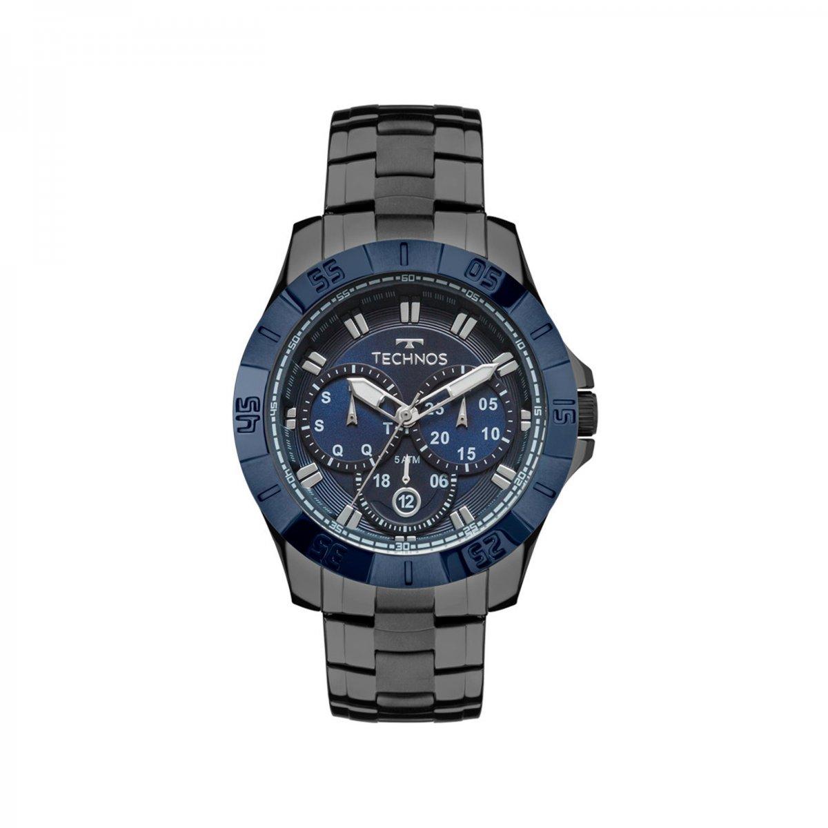 44c858716c6d0 Relógio Technos Analógico Skymaster Masculino 6P79BE 4C Zuazen