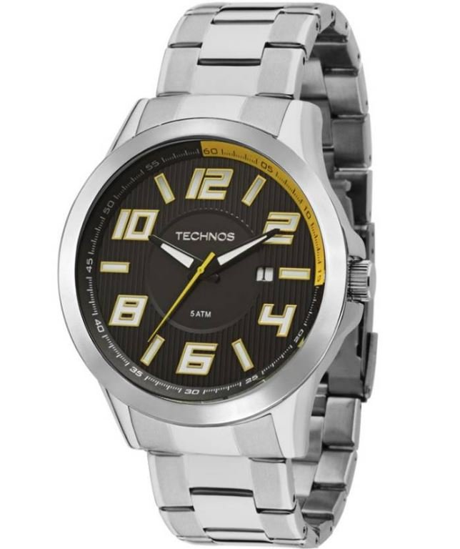 Relógio Technos Masculino Performance Racer 2115KNE 1Y b46467b608