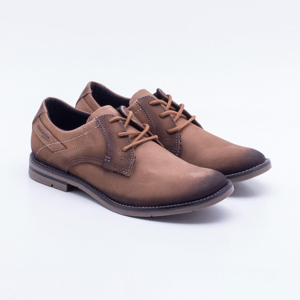 13768da1a Sapato Casual Pegada Parafinado Mascavo - Zuazen