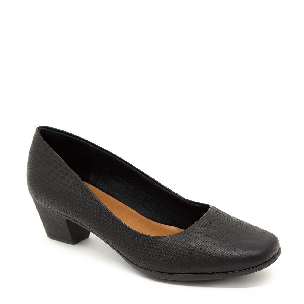 de189622a Sapato Feminino Usaflex Salto Médio Preto - Zuzen